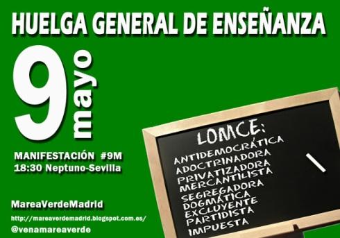 Huelga General de Enseñanza